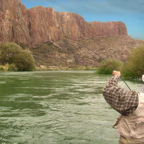 Rio Chubut Pesca Chubut Patagonia Turismo en Argentina